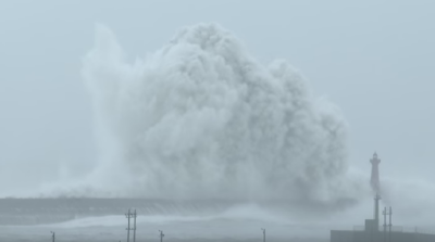Είναι αυτά τα μεγαλύτερα κύματα που έχουν κινηματογραφηθεί;