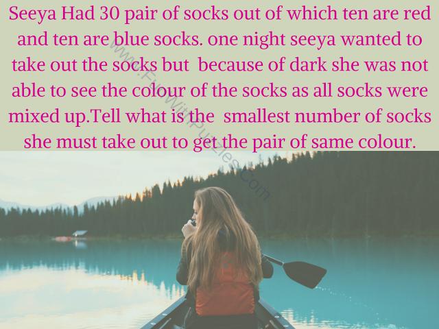 Socks Brainteaser