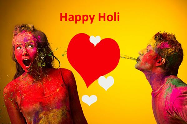 Happy Holi Romantic hd images
