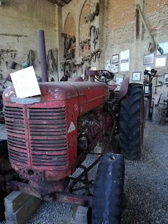 esposizione attrezzi agricoli Grazzano visconti