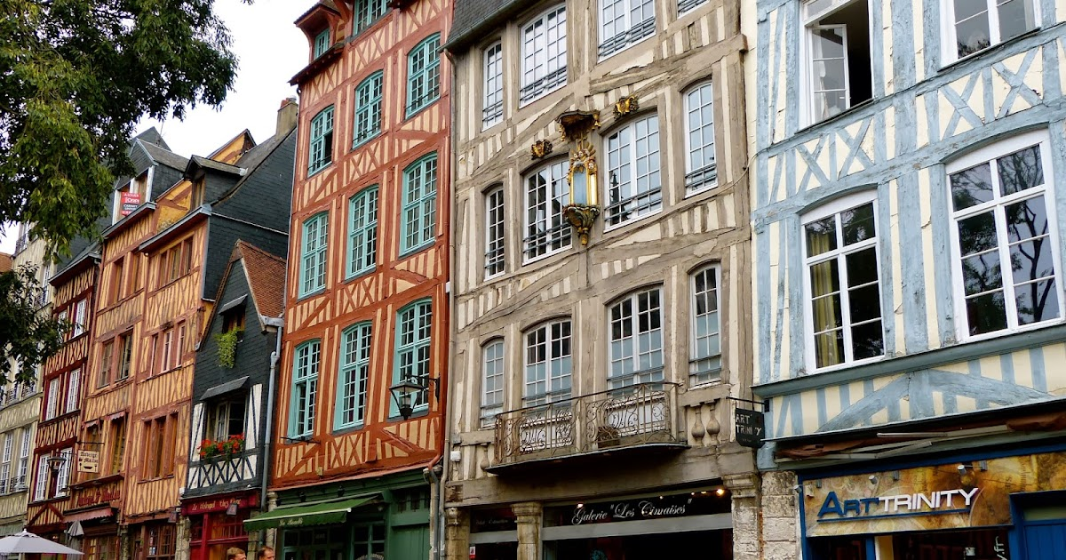 Day trips from paris rouen city of joan of arc and gustave flaubert