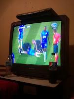 Mirando ganar al Sevilla