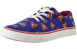 Superman Men's Sneakers For Rs 474 (Mrp 1899) at Amazon deal by rainingdeal.in
