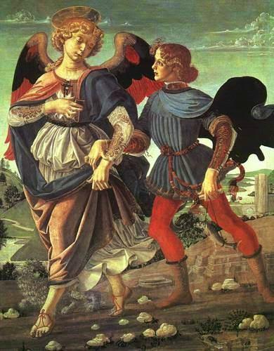 Tobias e o Anjo - Leonardo Da Vinci | O maior artista de todos os tempos
