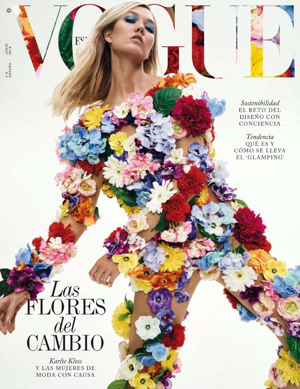 Vogue Spain photos June 2018 Karlie Kloss by Emma Summerton