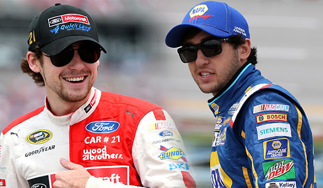 Ryan Blaney and Chase Elliott