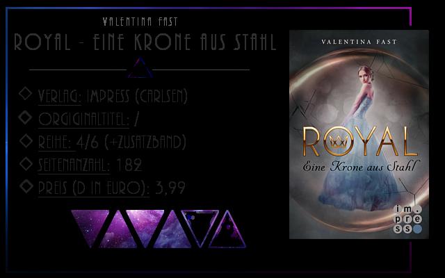 [Rezension] Royal: Eine Krone aus Stahl - Valentina Fast