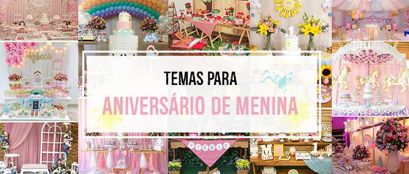 7 Temas Para Aniversário de 1 Ano de Menina