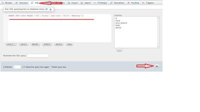 Cara Memasukkan dan menambahkan Data kedalam Tabel dengan PhpMyadmin