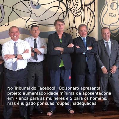 Bolsonaro com ministros