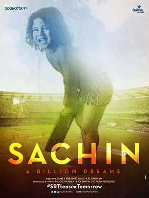 Sachin A Billion Dreams first look, Poster of upcoming movie hit or flop, Sachin Tendulkar upcoming movie 2016 release date, star cast