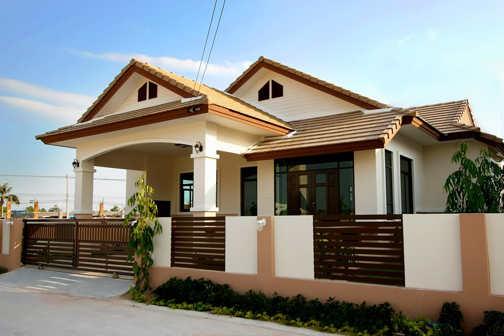 Beautiful bungalow house home plans and designs with photos for Home designs pics