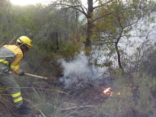 El operativo de prevención de incendios ha detectado 61 conatos por rayo durante agosto