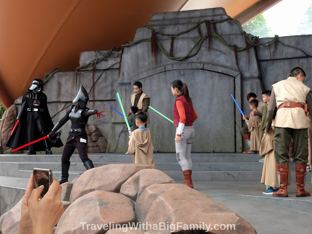 Jedi Training Hong Kong Disneyland show