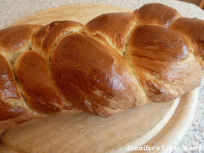 Homemade Zopf bread recipe
