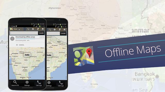 Google Maps agora funciona em modo Offline