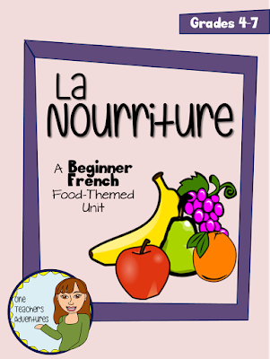 https://www.teacherspayteachers.com/Product/La-Nourriture-BEGINNER-FRENCH-Food-Themed-Unit-Grade-4-7-3231270