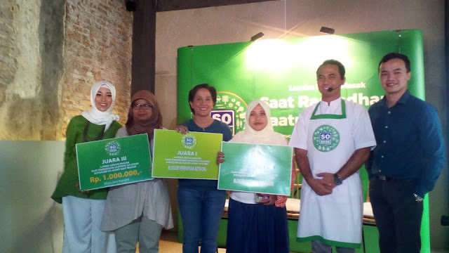 pemenang lomba kreasi masak saatnya ramadhan , saatnya so good