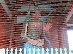 浅草寺宝蔵門・阿形像