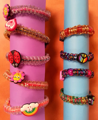 Rexlace Bracelets made with EZ Jig - Hands On Crafts For Kids