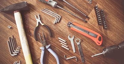 العمل بأدوات ذات جودة عالية :