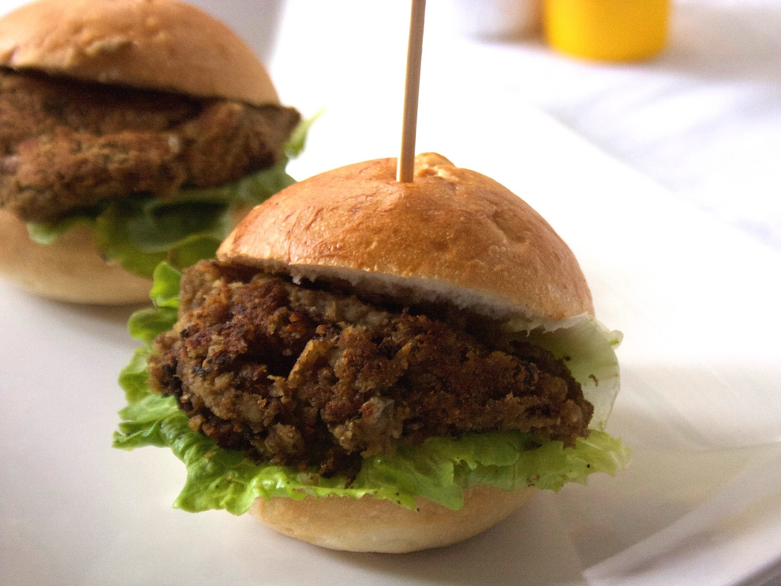 Lentil Mini Burgers With Thermomix