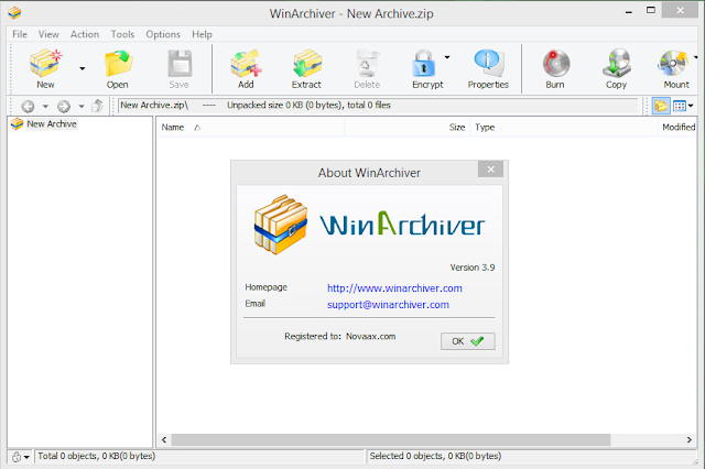 winarchiver registration code