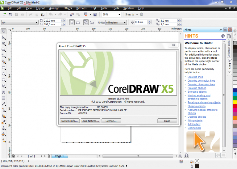 corel draw full version with crack
