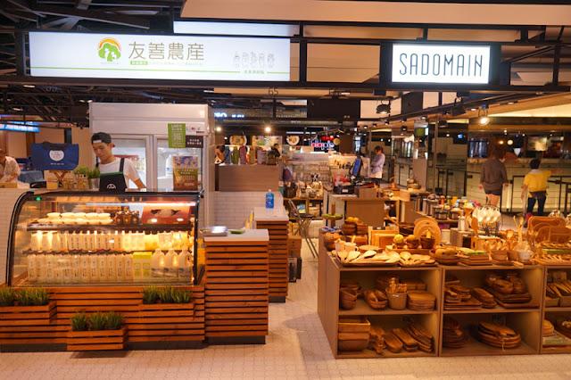 DSC04087 - 台中第六市場試營運現場直擊│全台第一個開在百貨公司的傳統菜市場將於9/21正式開幕