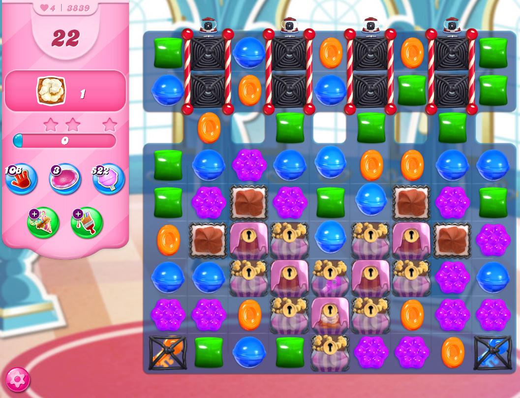 Candy Crush Saga level 3839