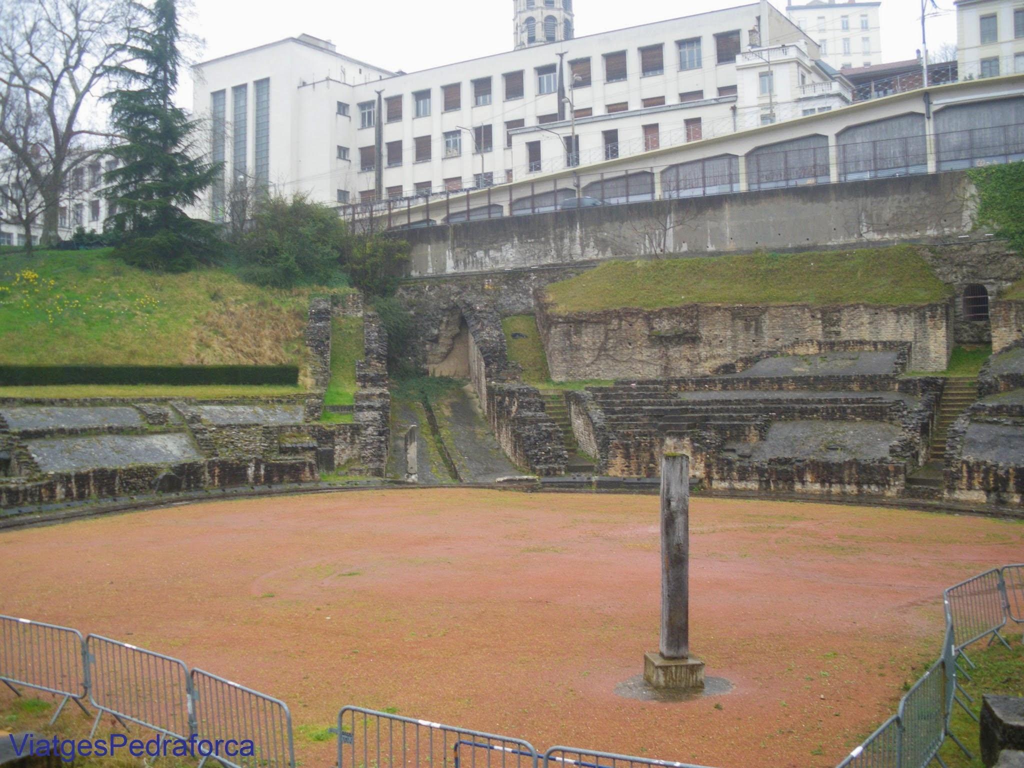 Amphitheatre des Trois Gaules, Croix-Rousse, Lyon, Lió, Rhône, Rhône-Alpes, França, France