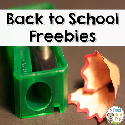 Great free no prep items for the back to school season to support teachers in their classrooms.