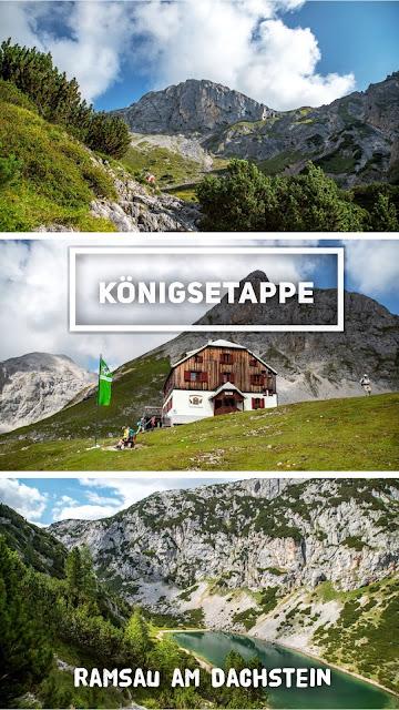 Königsetappe – Austria-Sinabell-Klettersteig und Silberkarsee | Wandern in Ramsau am Dachstein | Guttenberghaus - Silberkarklamm