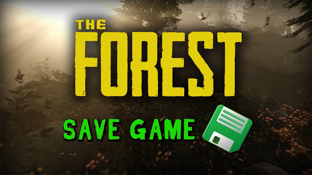 file save game the forest