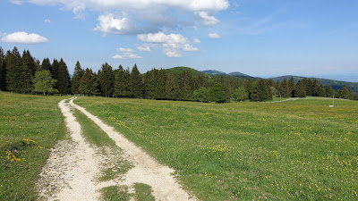 Montoz-Plateau bei La Rochette