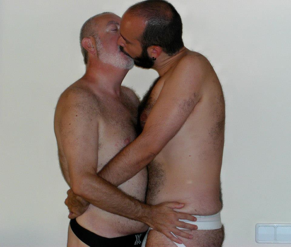 maduros gay baños