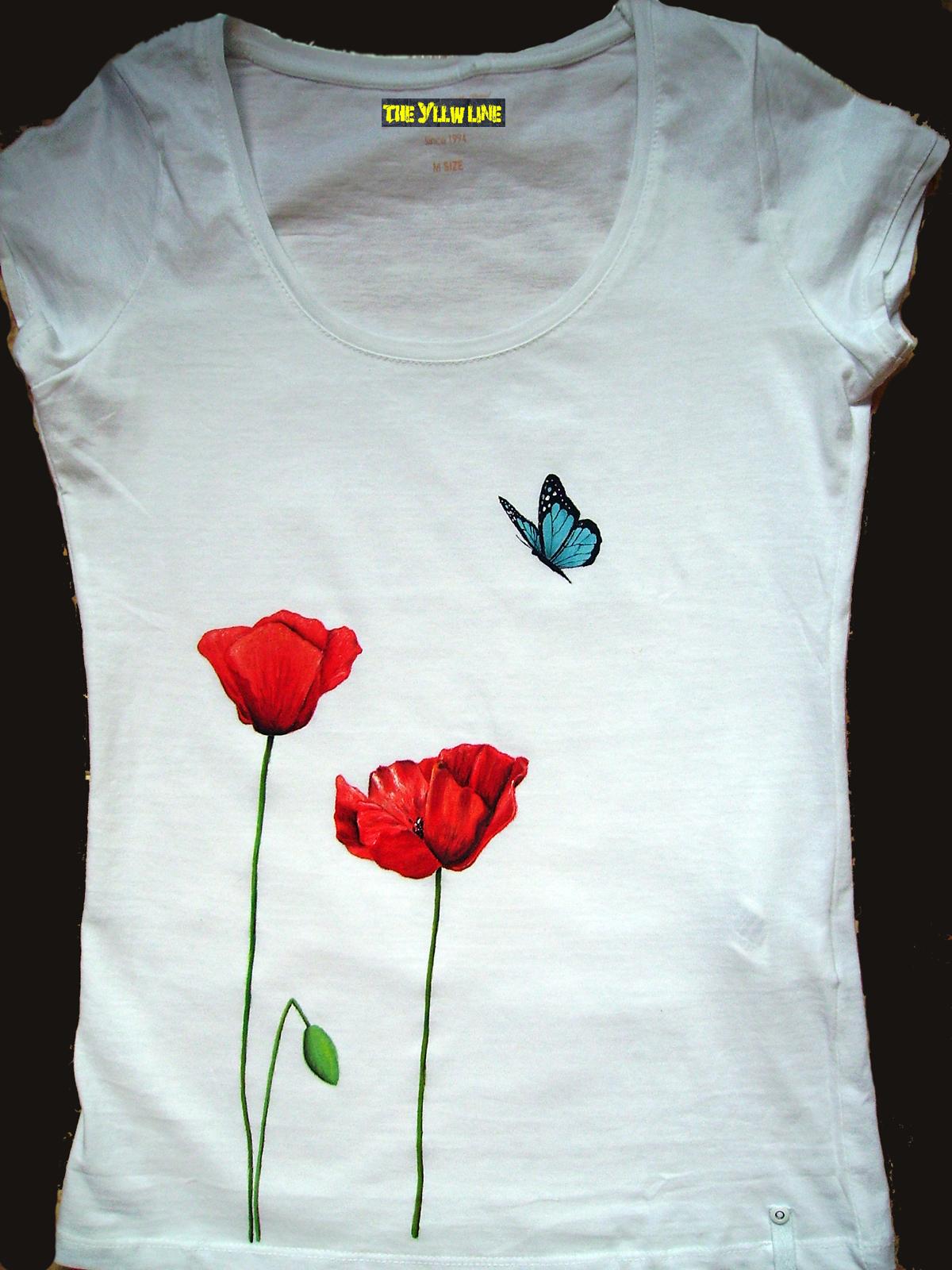Como Pintar Camisetas Con Plantilla Descubre Cmo Hacer