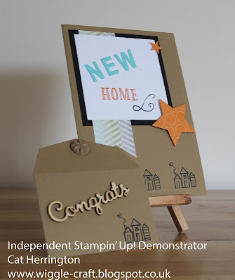 Stampin' Up! New Home Card
