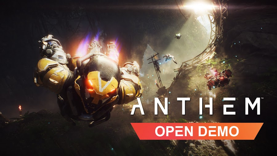 anthem open demo bioware live now