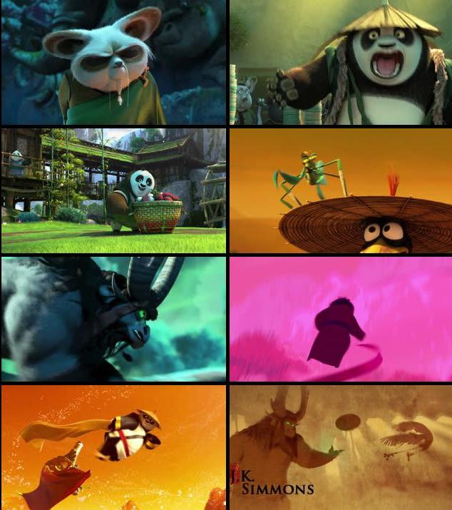 Kung Fu Panda 3 2016 Dual Audio Hindi 720p BluRay 800mb