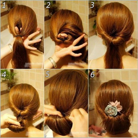 Perfect Step By Step Simple Hairstyles For Long Hair