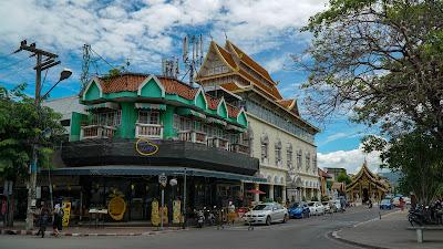 Seen on the way to Wat Phan Tao