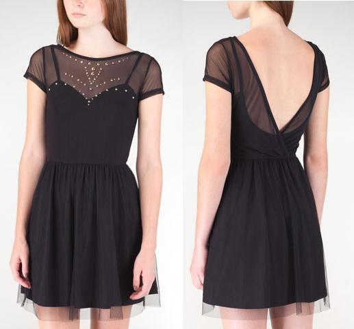 vestidos con trasparencias