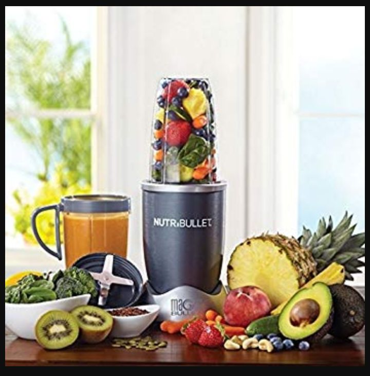 NutriBullet Fruit Blender and Food Mixer: NBR-1201 Juicer for Making Smoothies