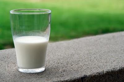 minum susu tulang
