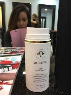 mucota omega digital perm hair products by focus hair dressing Singapore