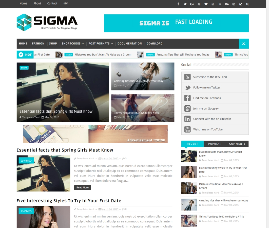 Top 5 premium blogger templates free kaise how 1 sigma blogger templates maxwellsz