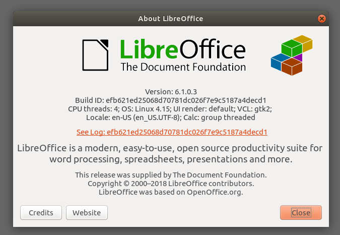 LibreOffice 6 1 0 Was Released, Update on Your Ubuntu
