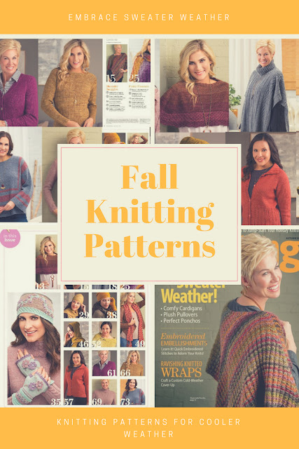 Sweater Weather Fall Knitting Patterns New Knitting patterns for Fall