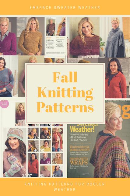 Sweater Weather Fall Knitting Patterns New Knitting patterns for Fall